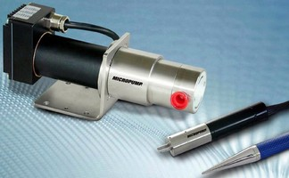 Micro Gear Pumps provide precise, pulseless flow.