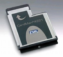Smart Card Reader features ExpressCard(TM) interface.