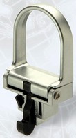 Pull Latch secures 19 in. racks in electronic enclosures.
