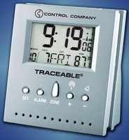 Radio-Controlled Clock is Traceable® to NIST standards.