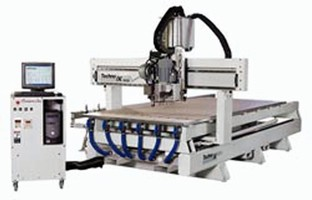 CNC Router handles plastic, wood, aluminum, and composites.