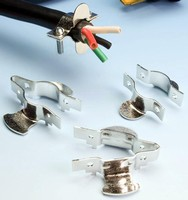 Strain Relief Clamp protects cords in critical applications.