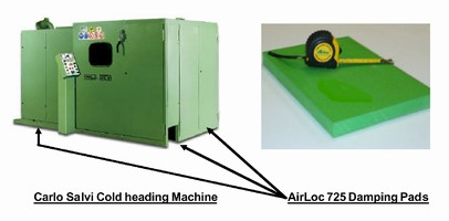 AirLoc Damping Pads 'Pin' Vibration Down on Spirol Cold Heading Machines