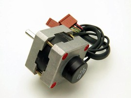Potentiometer has rotational life of 50 million cycles.