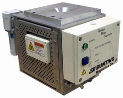 Electronic Metal Detectors remove ferrous/nonferrous metals.