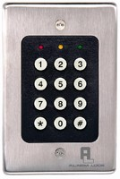 Keypads control access of single entry point.