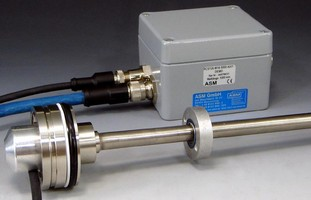 Position Sensor works in compact hydraulic cylinders.