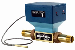 BTU Meter suits small systems from 0.8-38 gpm.