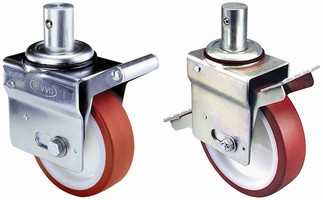 Swivel Casters are used in building and refitting scaffolds.
