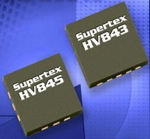 Dual Display Driver ICs reduce noise in handheld devices.