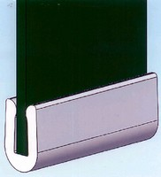 Rubber Edge Grommet accommodates range of panel thicknesses.