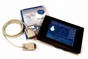 Touch Panel Controller provides quick-start programming.