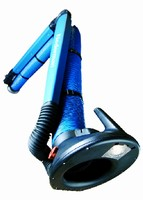 Dust Extraction Arm features external support system.