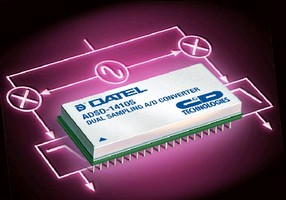 A/D Converter suits high-speed data acquisition systems.