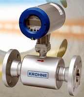 Ultrasonic Flowmeters feature 3-beam design with DSP.