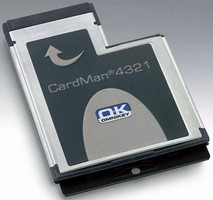 Smart Card Reader is available for ExpressCard(TM) interface.