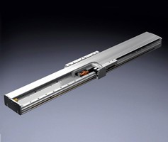 Actuator meets needs of high acceleration and speed applications.