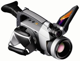 Thermal Camera captures high-definition images.