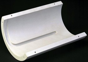 Machinable Ceramic can be used in applications to 2,100°F.