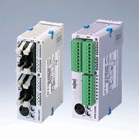 Programmable Logic Controller offers capacity of 32k steps.