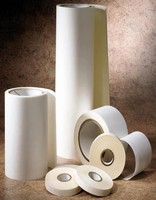 Polyester Film Tape bonds to foam and gasket materials.