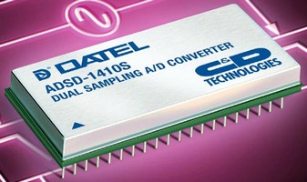 Dual Sampling A/D Converter features 14-bit resolution.