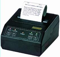 Dot Matrix Printer features portable design.