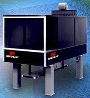 Enclosures offer controlled environment for optical tables.