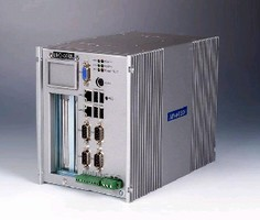 Industrial Fanless PC offers PCI expansion.