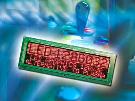 LED Graphics Display includes drive electronics.