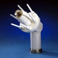 Atomizer suits automotive coating applications.
