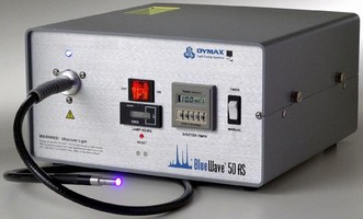 UV Curing Spot Lamp suits manual and automated processes.