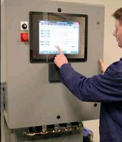 Automated System monitors metalworking fluids.
