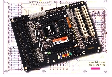 Development Board suits PC/104+ modules.