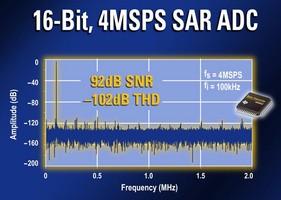 Analog-to-Digital Converter achieves 4 MS/sec.