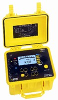 Ground Resistance Tester measures from 0.01-99,000 ohms.