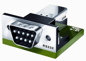 Converter gives RS232/485 instruments USB connectivity.
