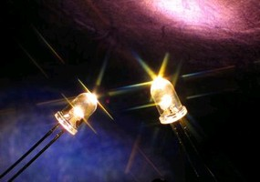 Incandescent LEDs emit 3,000 K warm white color.