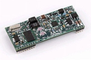 Voice/Data/Fax Modem suits embedded systems applications.
