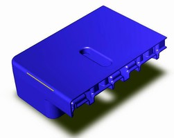 Pallets feature molded slot for RFID tags.