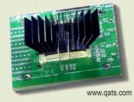 Heat Sinks cool Freescale MPC8641D dual-core processors.