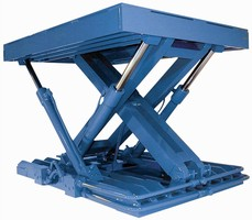 Lift Table suits high cycle material handling applications.