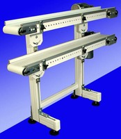 Low-Profile Conveyor Stand has 2-minute belt change design.