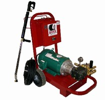 Cold Pressure Washers utilize in-house hot water.