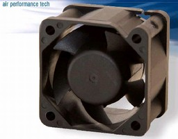 DC Ball Bearing Fans deliver up to 17.47 cfm.