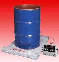Drum and Barrel Scale features separate digital indicator.