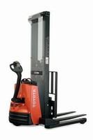 Lift Truck offers adjustable base legs.