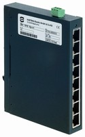Compact Ethernet Switch features fiber optic ports.