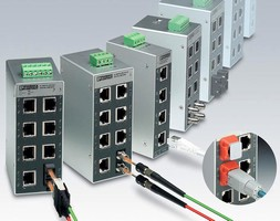 Unmanaged Ethernet Switches provide port security options.