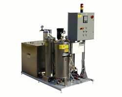 Filtration System is suited for waterjet cutting industry.
